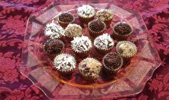 Chocolate Cheese Truffles