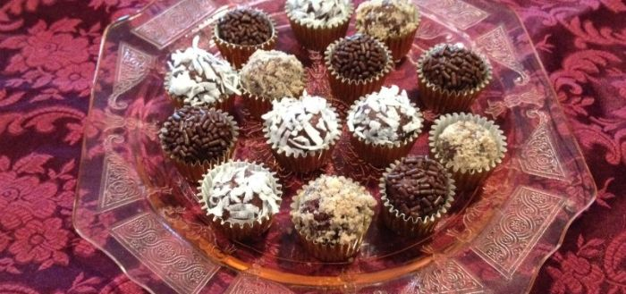 Chocolate Cheese Truffles