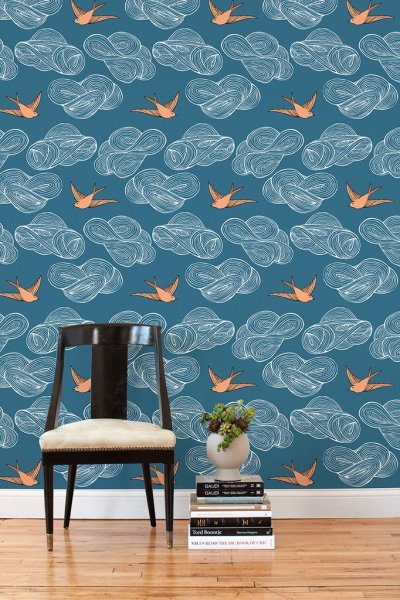 Wallpaper for Renters | A Cup of Jo