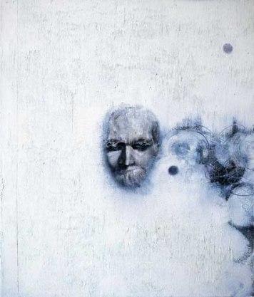 Nietzsche e o ascetismo. Pintura: Les Messieurs d'Avignon, de Michael Kunze.