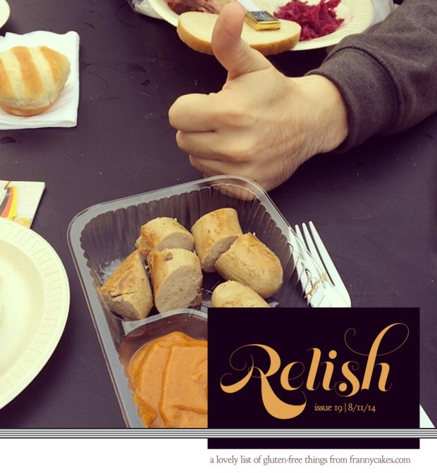 relish 19 | july 2014 | frannycakes picks gluten-free treats