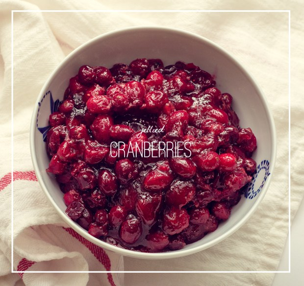 jellied cranberries | a gluten-free recipe from frannycakes