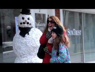 Broma del hombre de nieve