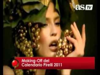 Making-Of de Calendarios Pirelli