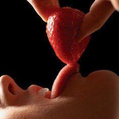 Fresas afrodisiacas