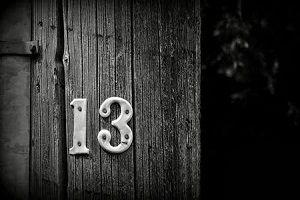 Creencias misteriosas acerca del número 13