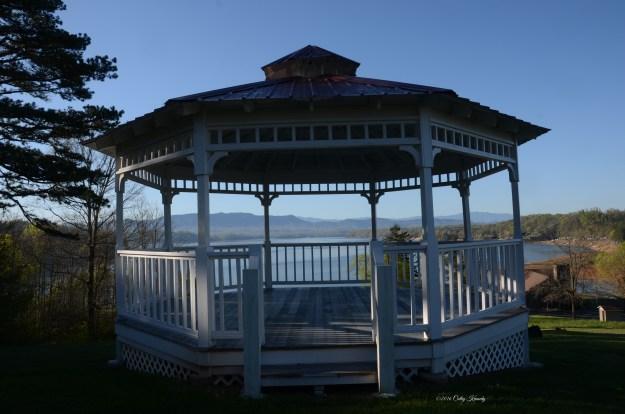 Gazebo Overlooking Douglas Lake DSC_6108