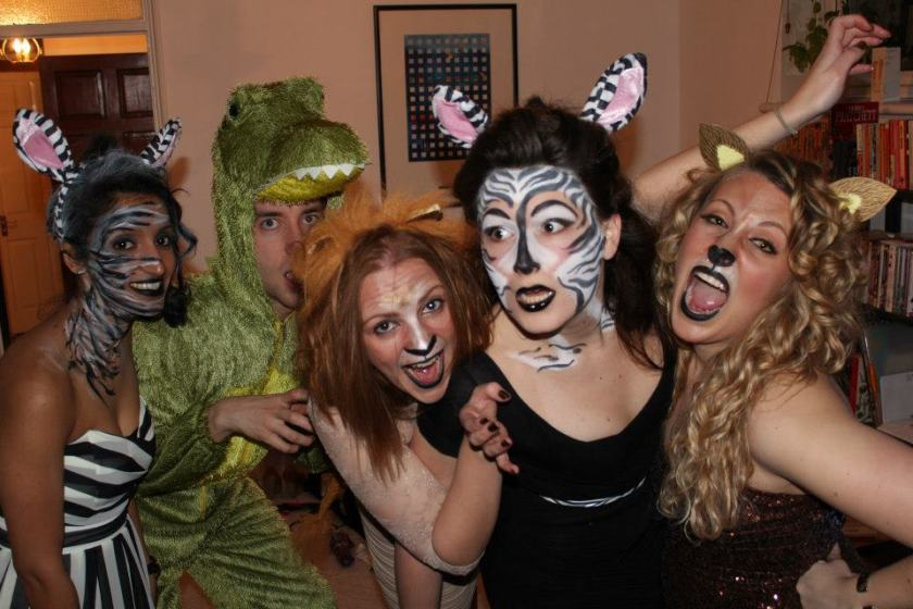Fancy dress for the Animal Party!