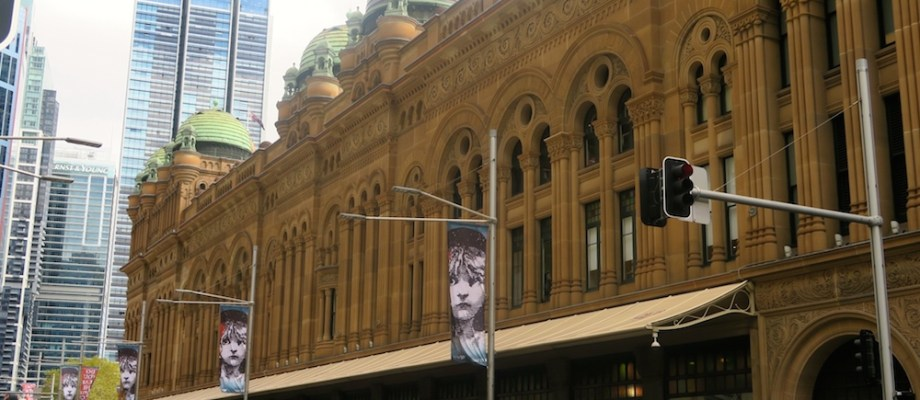 Exploring George Street Sydney by foot