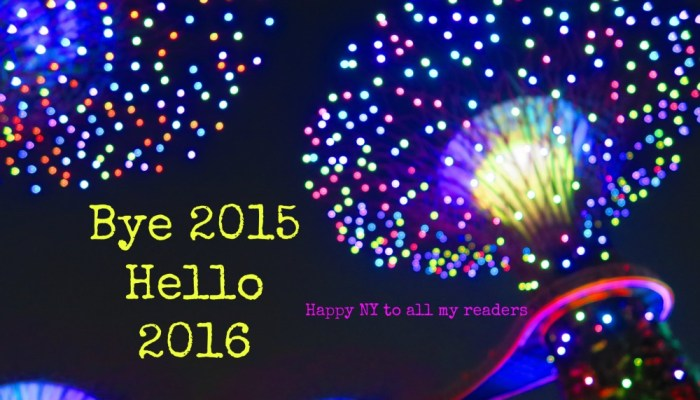 Happy New Year! Welcome 2016