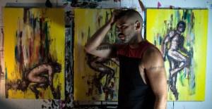 Montreal artist Yunus Chkirate (Photo courtesy Yunus Chkirate)