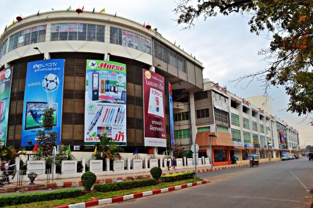 Shopping in Vientiane