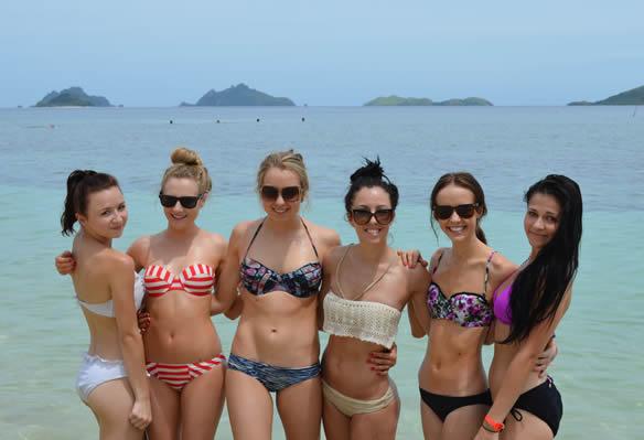 Skimpy Bikinis in Fiji