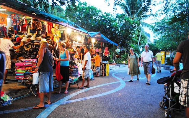 Shopping in Krabi