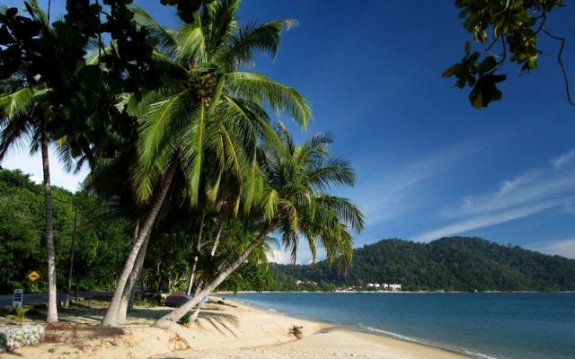 Pasir Bogak Beach in Pangkor Island