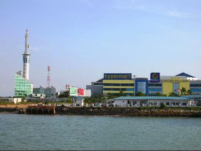 Batam Centre in Batam Island