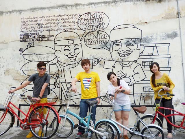 Cycling in Penang