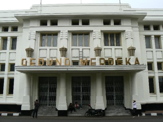Gedung Merdeka in Bandung