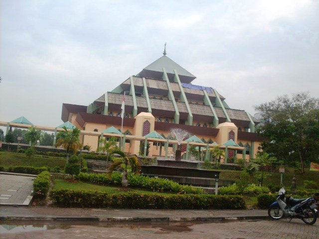 Grand Mosque in Batam Island