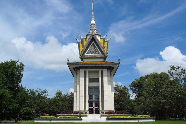 Killing Fields of Choeung Ek in Phnom Penh