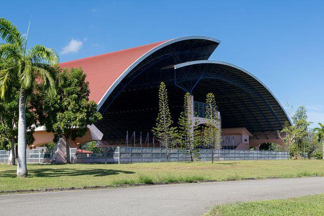 Likas Sports Complex in Kota Kinabalu
