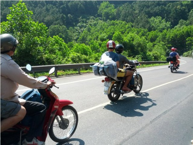 Motorbiking in Hue