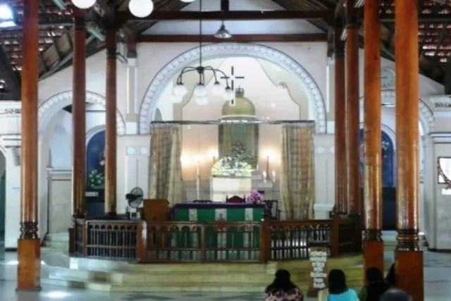 St Anne's Shrine in Tagaytay
