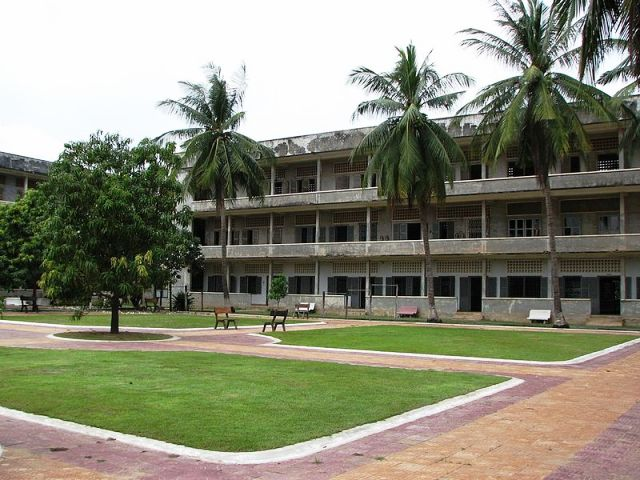 Tuol Sleng Genocide Museum in Phnom Penh