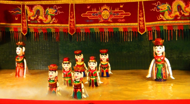 Water Puppet Show in Ho Chi Minh