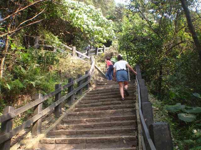 hiking in taipei