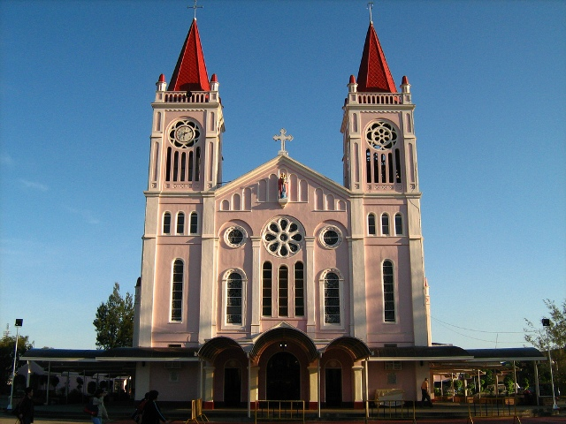 cathedral church in baguio