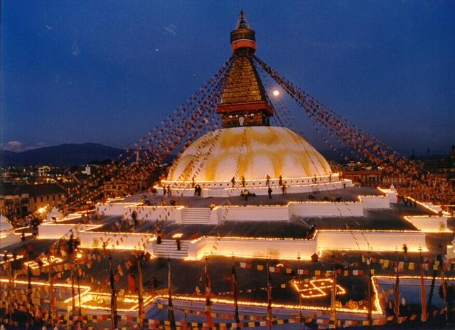 stupa, kathmandu, nepal