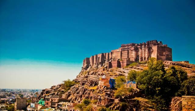 fort, jodhpur, india