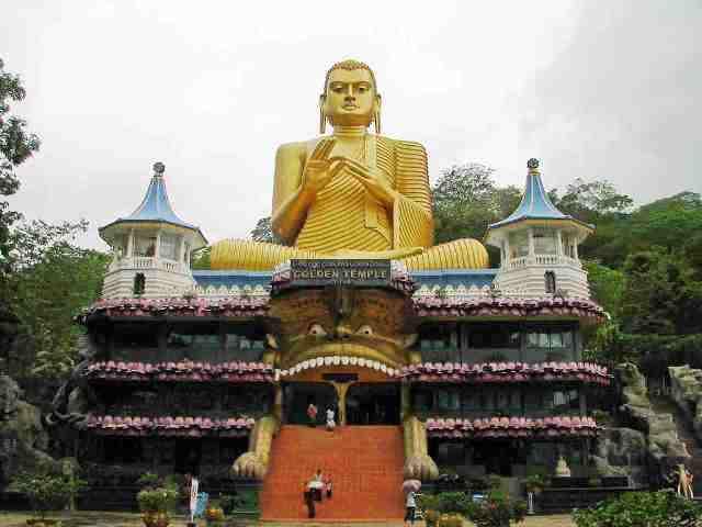 temple, buddha, sri lanka