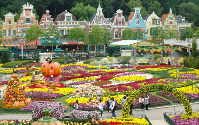 amusement park, korea, seoul