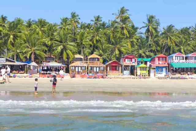 palolem, goa beach, india