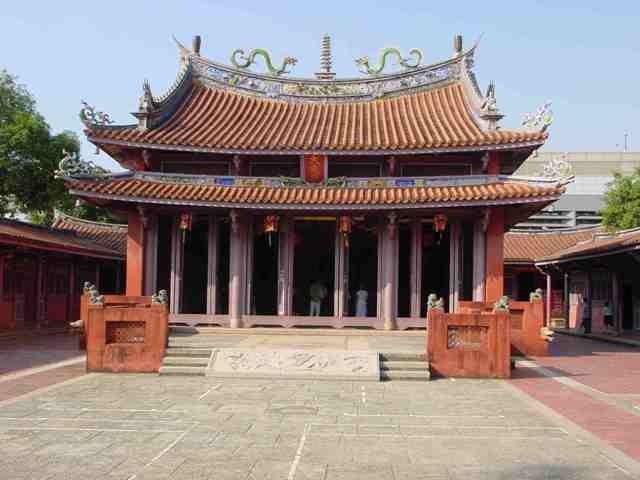 confucian temple, taiwan, tainan