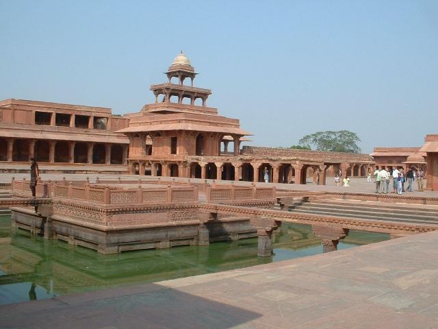 fatehpur sikri, agra, india