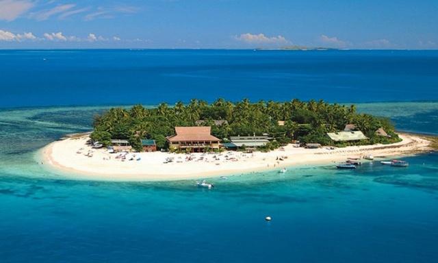 mamanuca islands, pacific, fiji, beachcomber