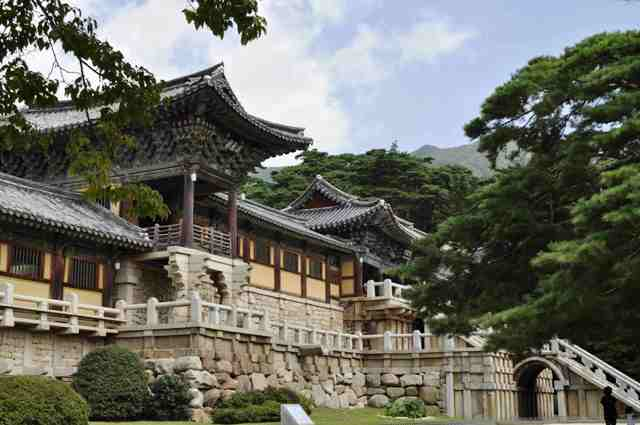 seoul temples, korea, bulguksa
