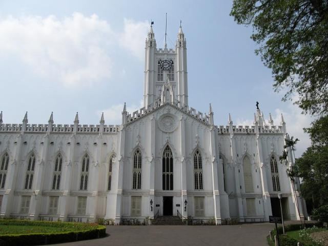 st, paul's chruch, india, calcutta