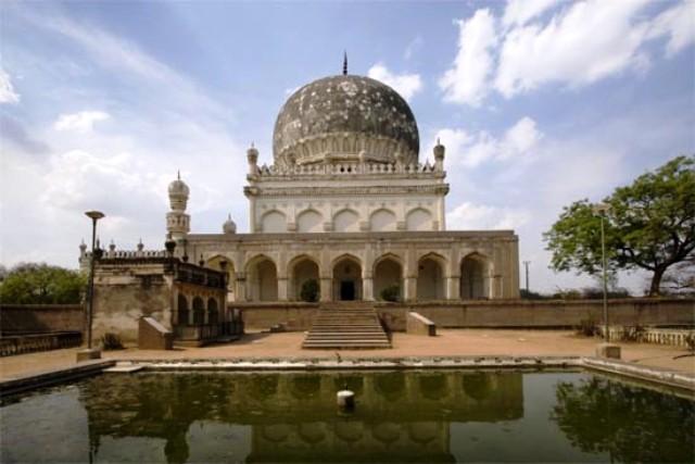 qutb shahi tombs, india, hyderabad