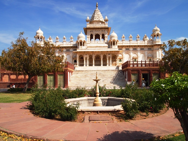 jaswant thada, jodhpur, india