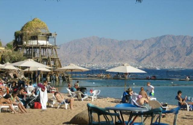 beach, reef, eilat, jerusalem