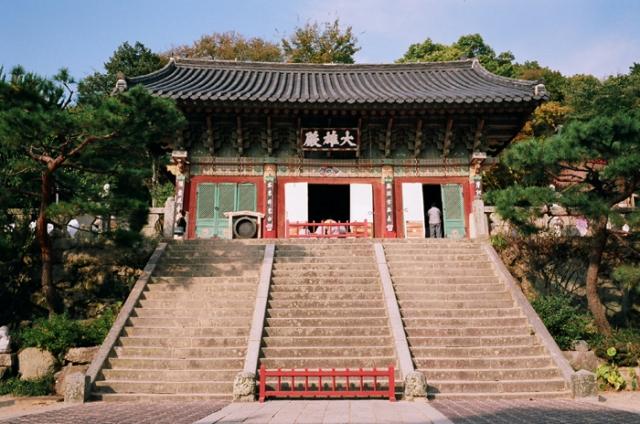 beomeosa temple, busan, korea