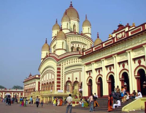 kalighat, temple, india, calcutta, kali temple
