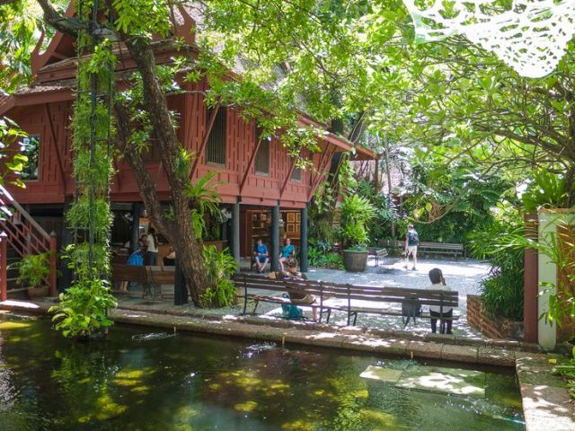 jim thompson house, tourist attraction, bangkok, thailand