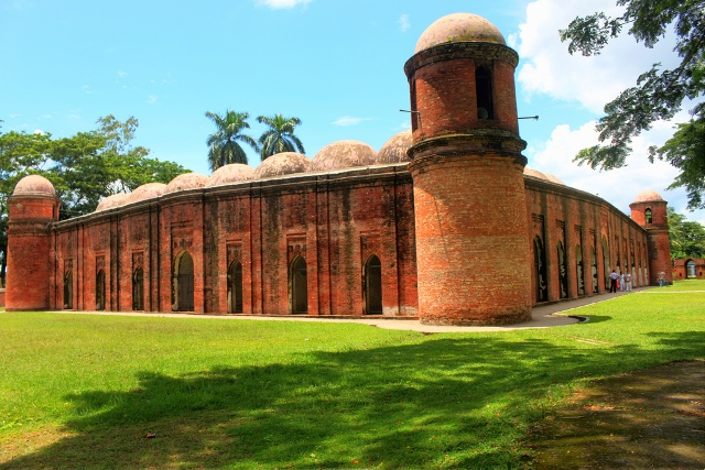 mosque of bagerhat, india, bangladesh