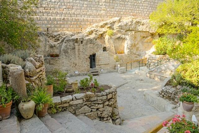 garden tomb, israel, jerusalem