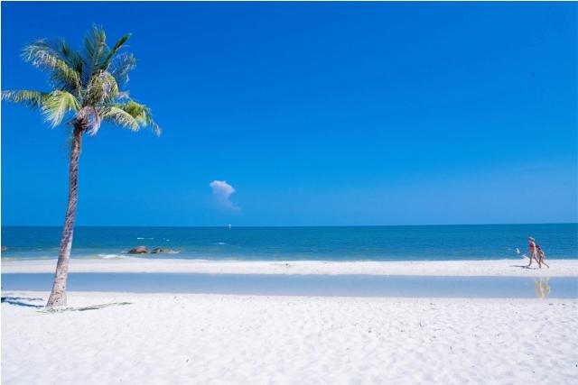 hua hin beach, thailand,